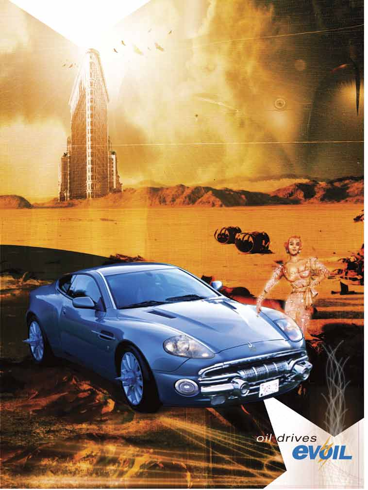 Wave of The Future Poster Evoil Poster Wave of The
